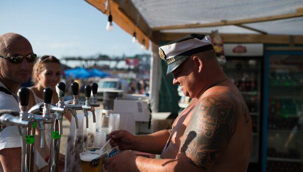Продажа пива в Севастополе