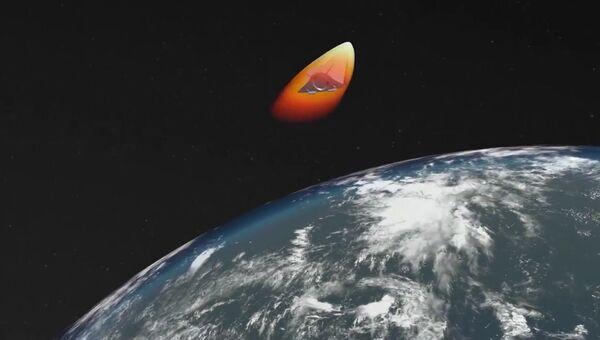 Запуск новейшей ракеты Авангард