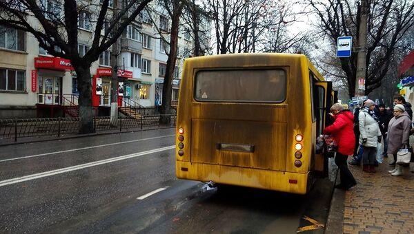 Общественный транспорт в Симферополе