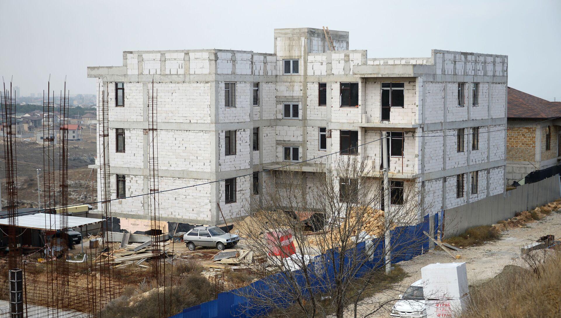 Строительство многоквартирных домов на землях под ИЖС в районе генерала Мельника в Севастополе - РИА Новости, 1920, 18.12.2020