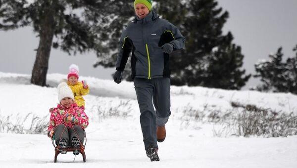 Зимний отдых на Ай-Петри