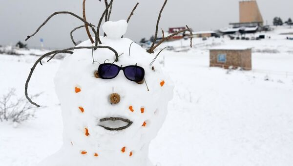 Местное снеготворчество: слепить снеговика в Крыму удается не во всякую зиму