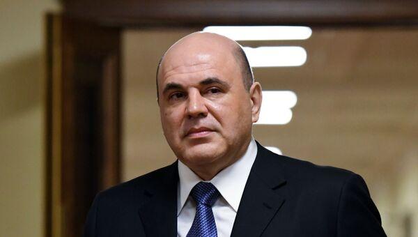 Кандидат на пост премьер-министра РФ М. Мишустин встретился с парламентскими фракциями