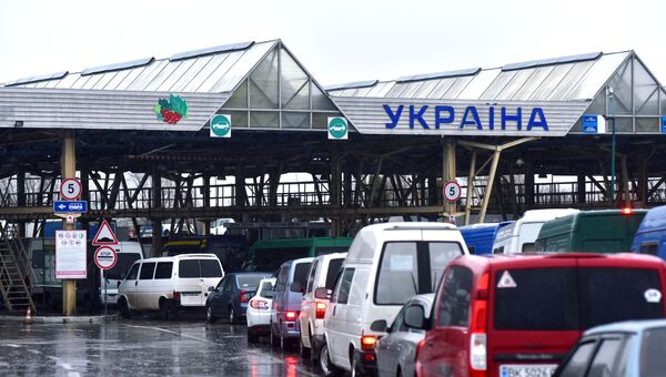 Международный пункт пропуска Краковец - Корчева