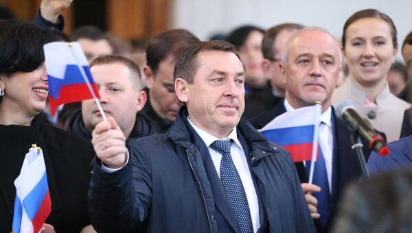 Председатель Совета министров Крыма Юрий Гоцанюк