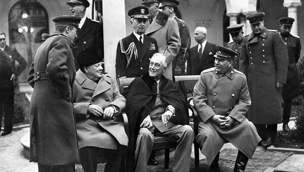 Ялтинская (Крымская) конференция союзных держав. 4-11 февраля 1945 года.