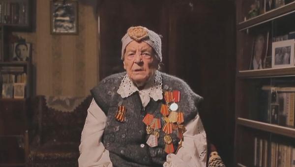 Труженица тыла Анна Георгиевна Терехина