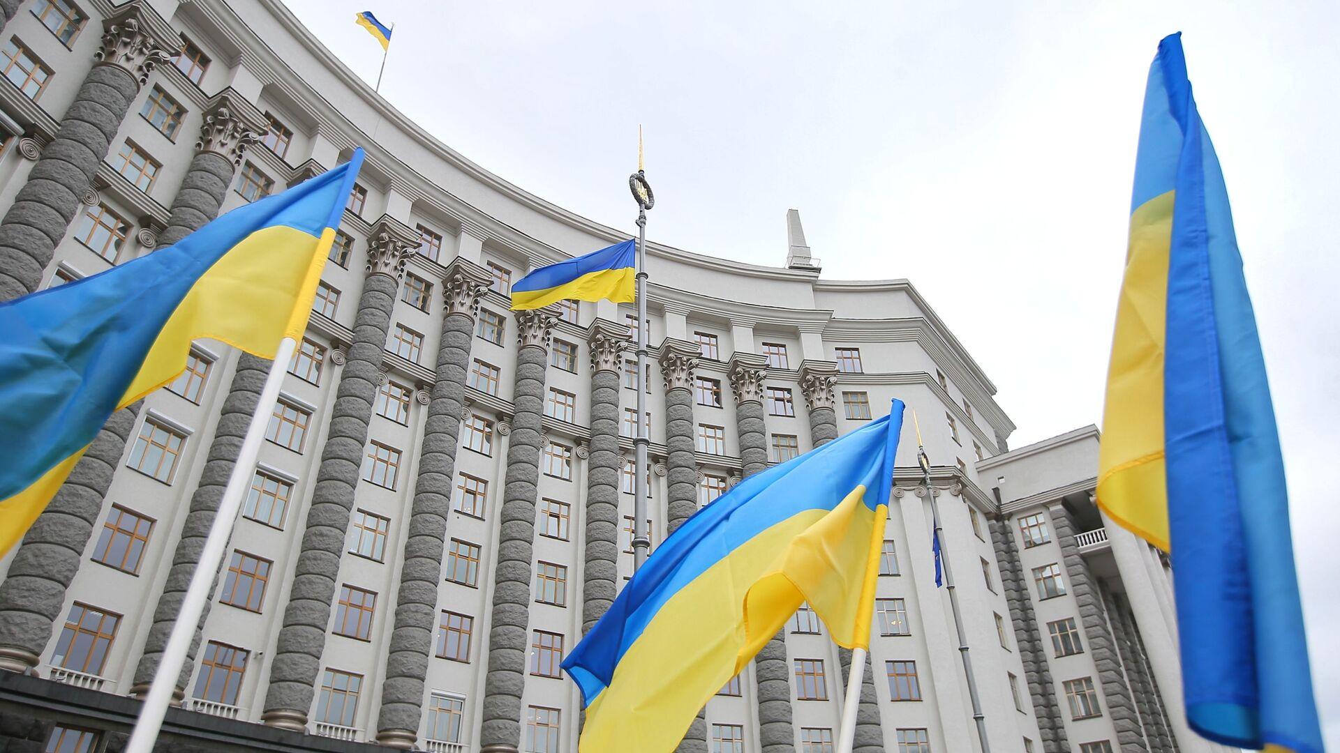 Здание правительства Украины в Киеве - РИА Новости, 1920, 30.10.2020