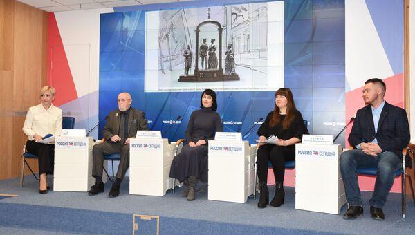 Пресс-конференция Историческая память Крыма в скульптуре