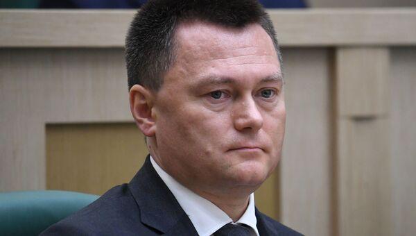 Заседание Совета Федерации РФ, открывающее весеннюю сессию
