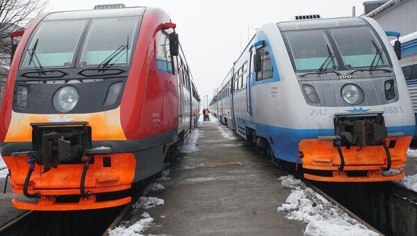 Локомотивное депо в Калининграде