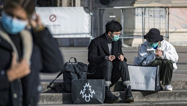 Ситуация в Италии в связи с коронавирусом. Милан