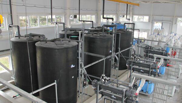 Водные фильтры Партизанского гидроузла
