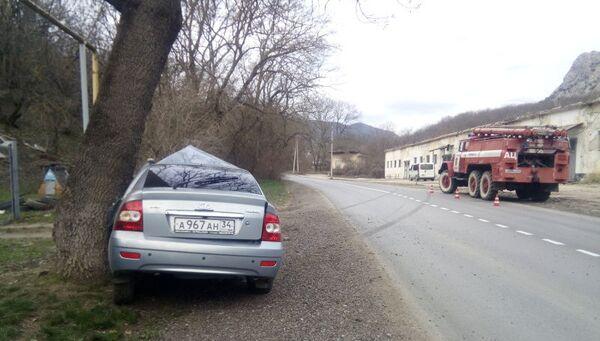 Авария в Феодосии