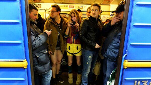 Поезд метро в Киеве