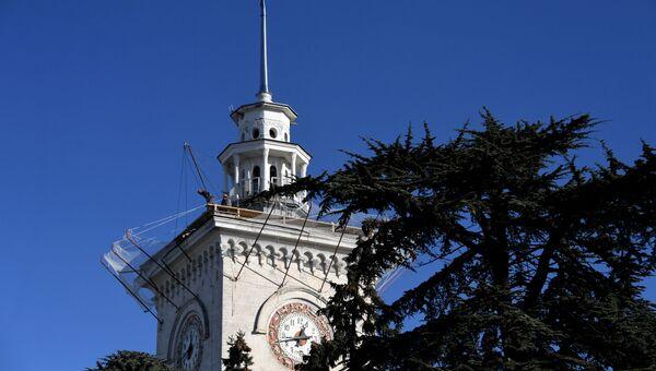 Симферополь железнодорожный вокзал башня