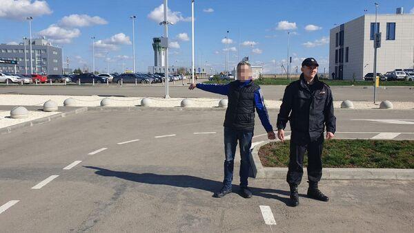 Крымские правоохранители задержали в Международном аэропорту Симферополь серийного вора