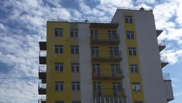 Многоквартирный дом для депортированных граждан в Керчи
