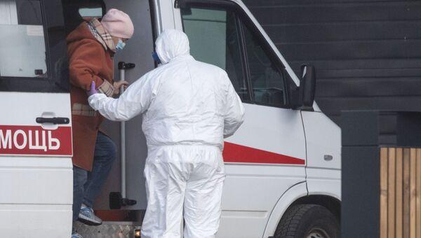 Больница в Коммунарке для пациентов с подозрением на коронавирус