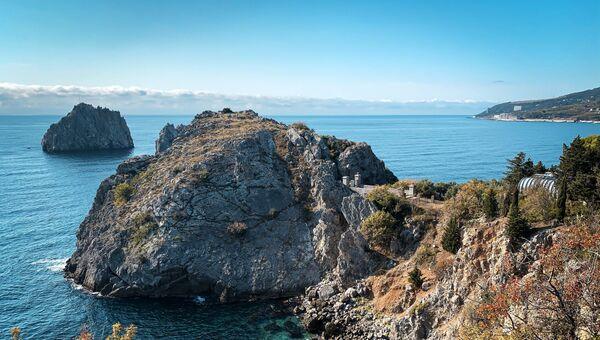 Побережье Черного моря в Республике Крым