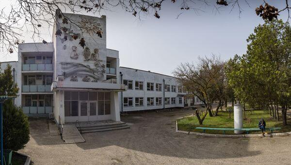 Здание евпаторийского санатория Здравница