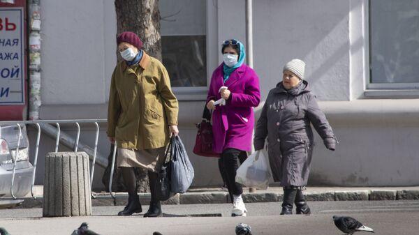Симферополь люди в масках