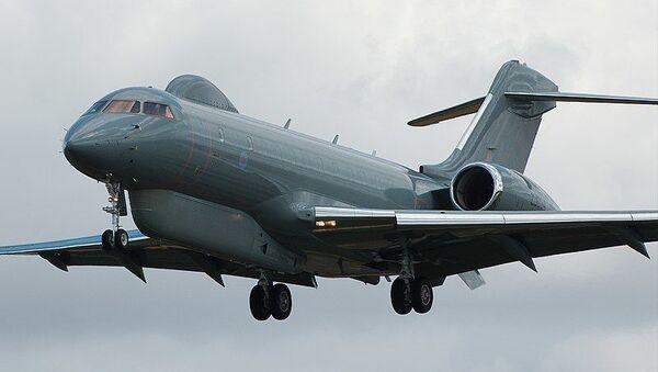 Самолет радиоэлектронной разведки Bombardier Global Express Sentinel R.1 ВВС Великобритании