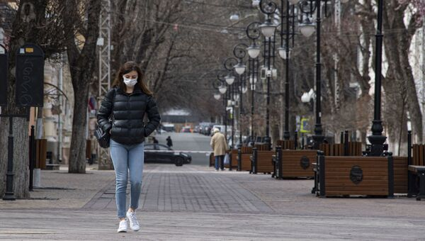 Симферополь на карантине пустые улицы