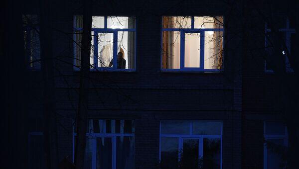 Окна жилого дома. Архивное фото