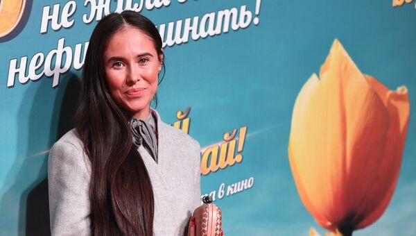 Актриса Илана Исакжанова. Архивное офто