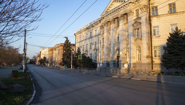 Керчь карантин пустая улица