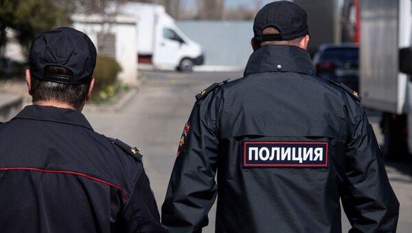 Патруль полиции по выявлению нарушителей карантина