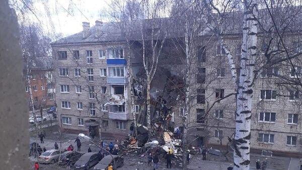 Взрыв газа в подмосковном Орехово-Зуево