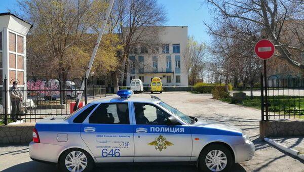 Городская больница в Армянске, северный Крым