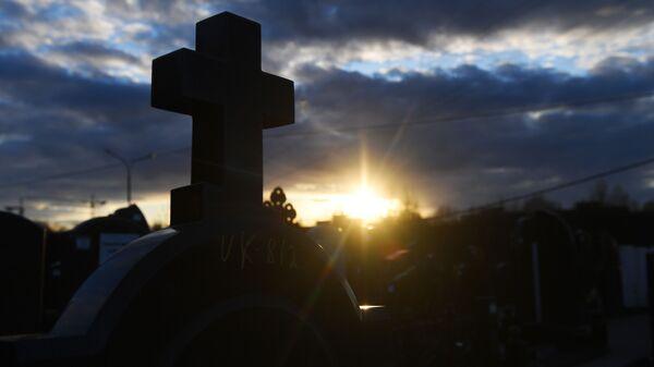 Кладбище. Архивное фото