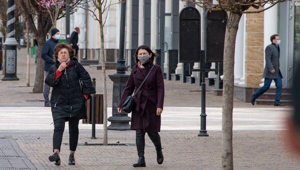Симферопль карантин люди в масках