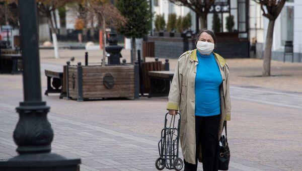 Симферополь карантин люди в масках