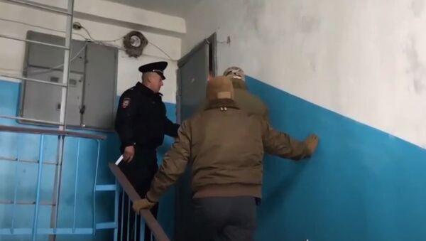 ВИДЕО_задержание диверсантов в Крыму