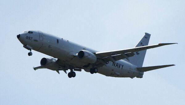 Самолет Boeing P-8 Poseidon военно-морских сил США. Архивное фото