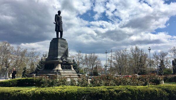 Севастополь площадь Нахимова