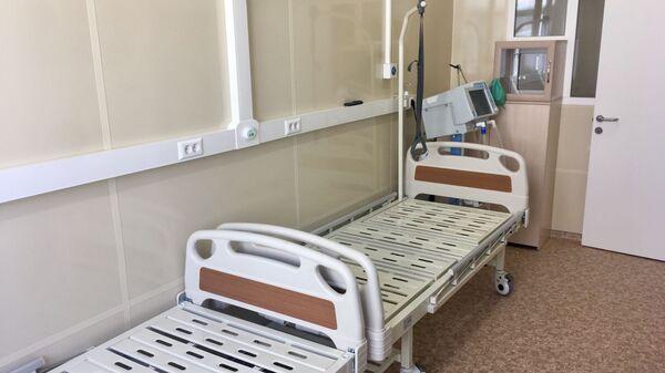 Новый корпус инфекционной больницы в Севастополе