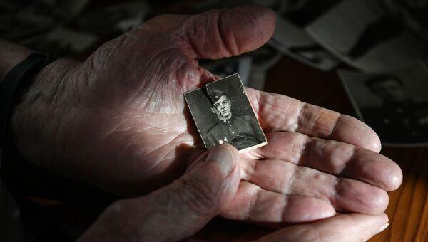 Ветеран Великой Отечественной войны В. И. Новохатский