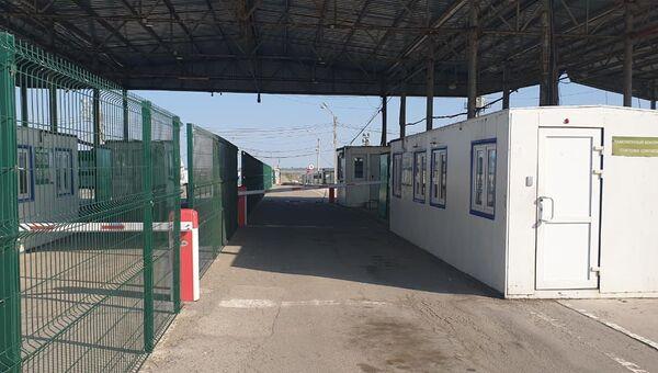 Граница с Украиной, пункт пропуска Джанкой