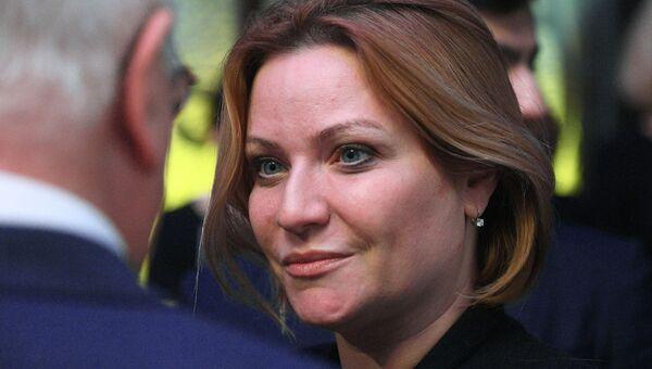 Министр культуры РФ Ольга Любимова. Архивное фото