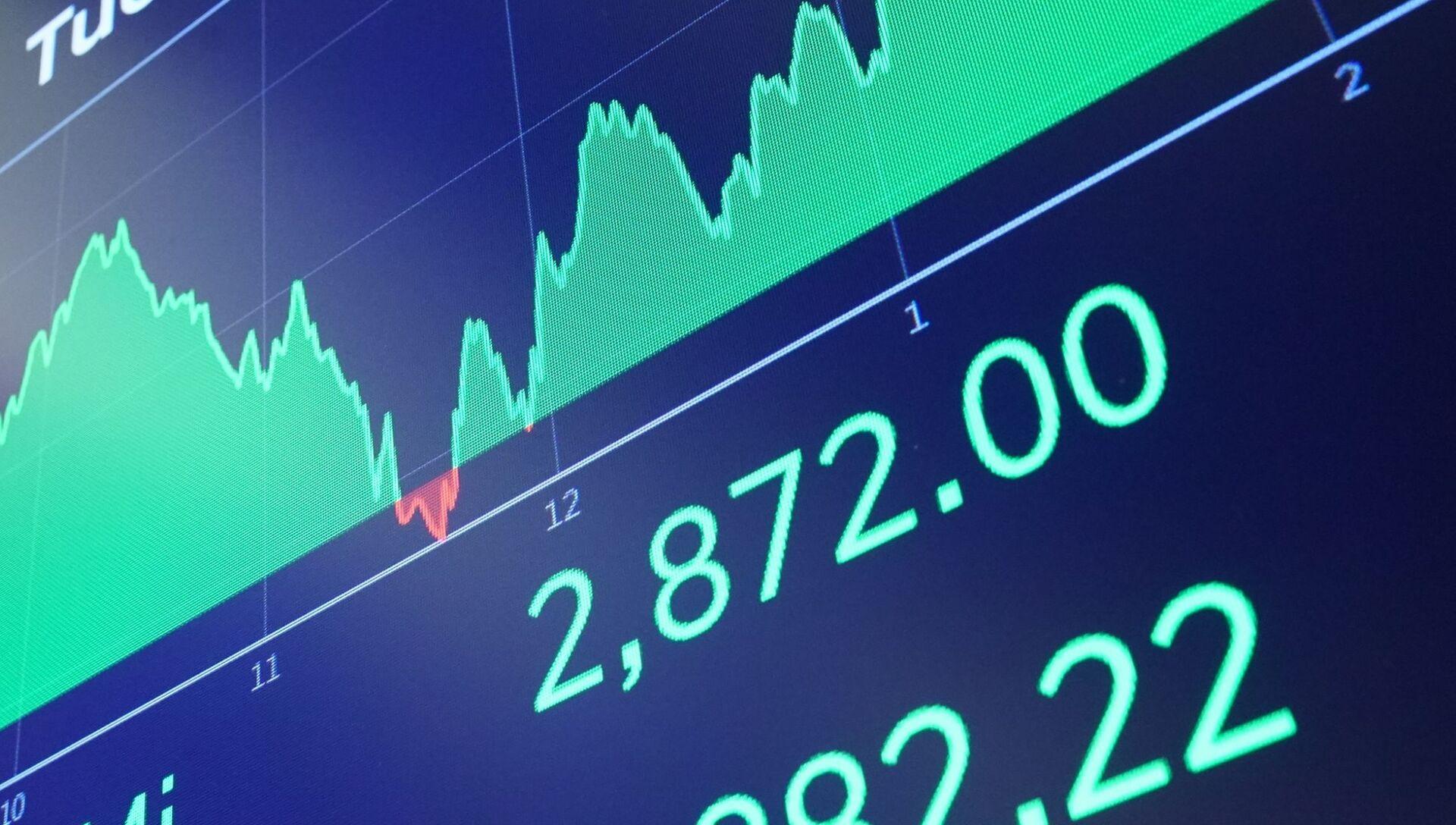 Нью-Йоркская фондовая биржа - РИА Новости, 1920, 28.10.2020