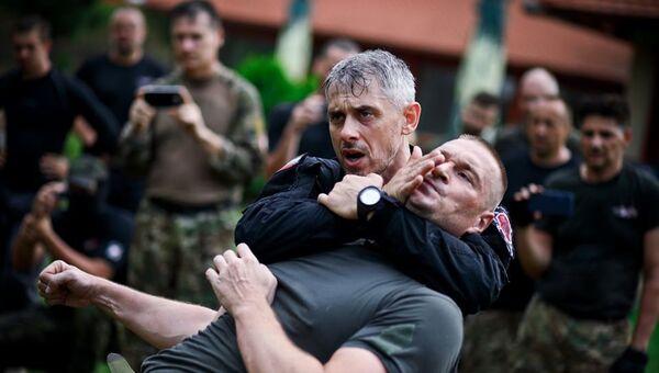 Тренировка Центра боевой и профессиональной подготовки Волк
