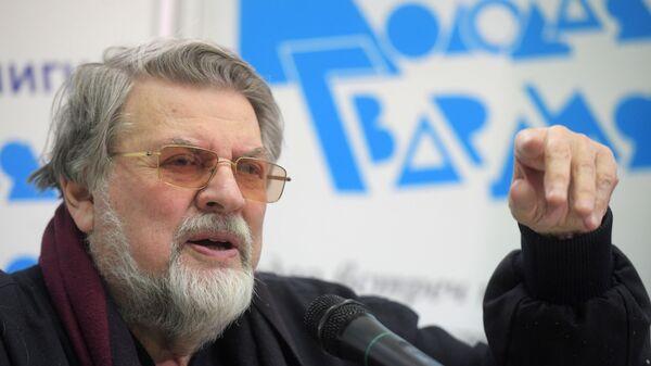 Художественный руководитель Театра сатиры, актер Александр Ширвиндт