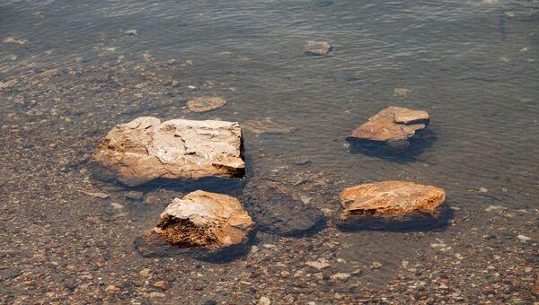 Берег озера. Архивное фото