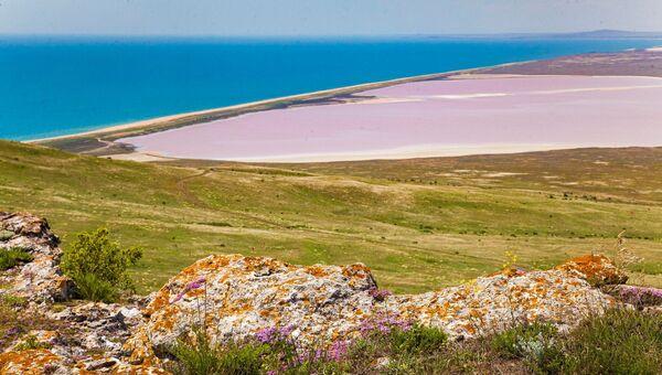 Кояшское озеро на Опуке