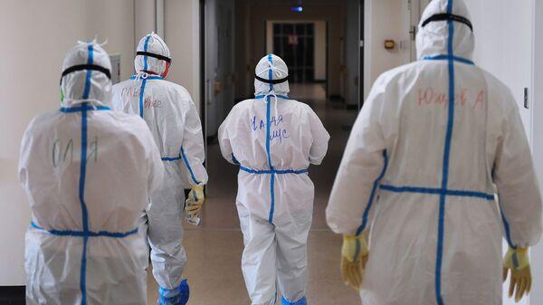 Госпиталь COVID-19 в Центре мозга и нейротехнологий ФМБА России